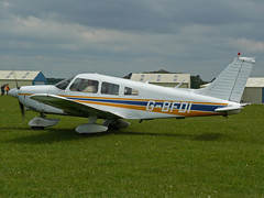 G-BFDI (QSY on-route) Tags: kemble egbp gvfwe greatvintageflyingweekend 09052010 gbfdi