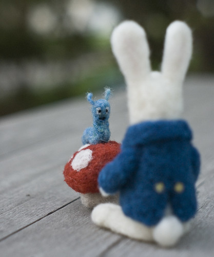 Rabbit and Caterpillar