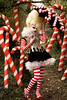 Wonderland : The Vanity of the Candy Cane Witch (Kirsty Mitchell) Tags: fairytale forest woods circus stripes katie magic fantasy wonderland storybook candycanes kirstymitchell elbievaneeden thecandycanewitch