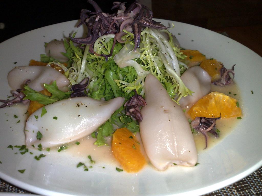 Sauteed Calamari