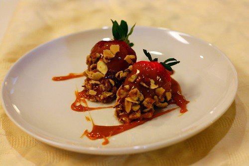 Salted Caramel Strawberries 2