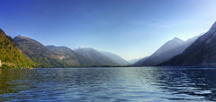 Ebensee, how it is ;-) (Jo_Underground) Tags: wood sun lake water forest canon underground austria sterreich ship bad vessel jo obersterreich hdr traun ebensee salzkammergut ischl upperaustria traunsee eos450d rindbach jounderground eimberg