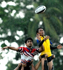 it was a rainy day (Hafizudin) Tags: sports action rugby sukan aksi ragbi