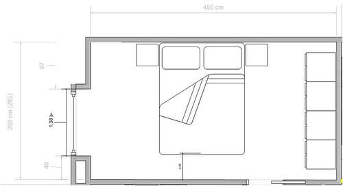 Forum Arredamento.it • Aiuto per disposizione camera da letto
