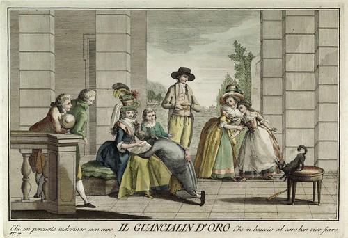 005-La almohada de oro- Giuochi Trattenimenti e Feste Annue Che si Costumano in Toscana 1790- Giuseppe Piattoli