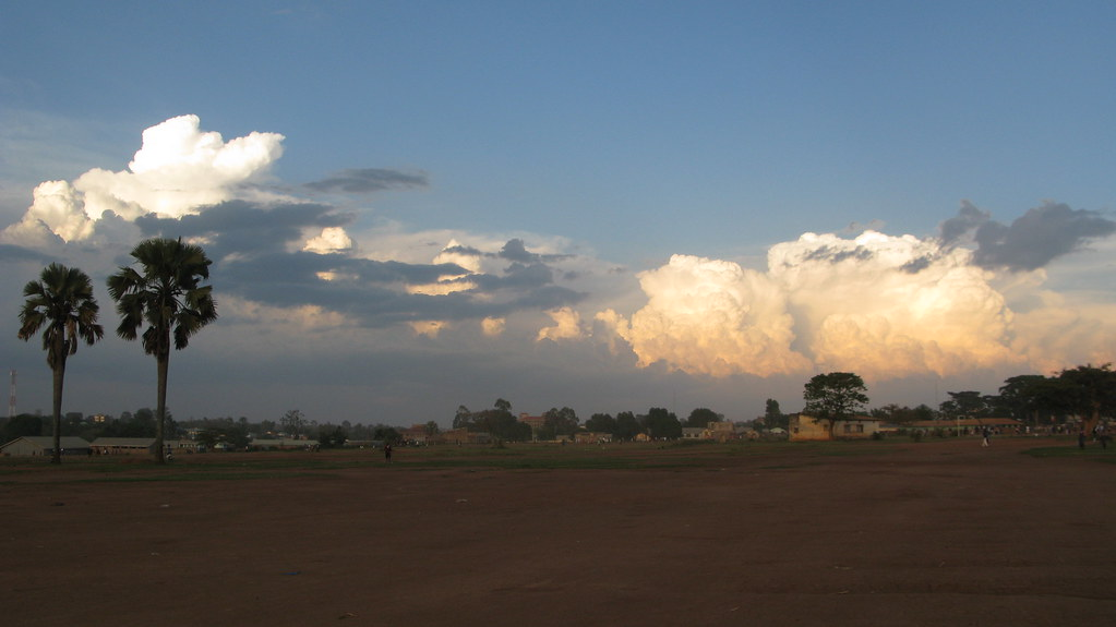 skies over Gulu