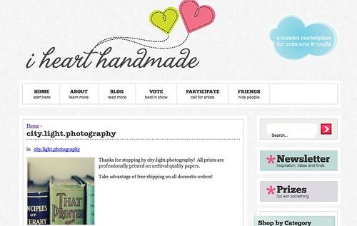 I Heart Handmade Shop