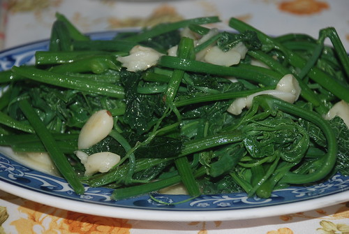 Stir fried susu vegetable
