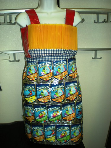Dress Made from Recycled Materials