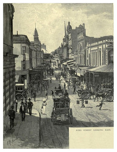 010-KIng Street en Sydney-Australasia illustrated (1892)- Andrew Garran