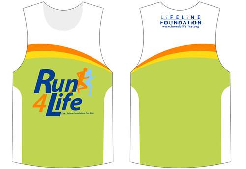 Run 4 Life 2010 Singlet