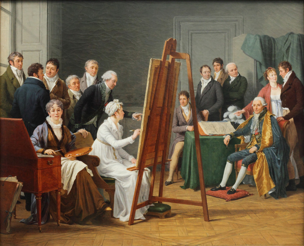 Marie Gabrielle Capet, Studio Scene, 1808