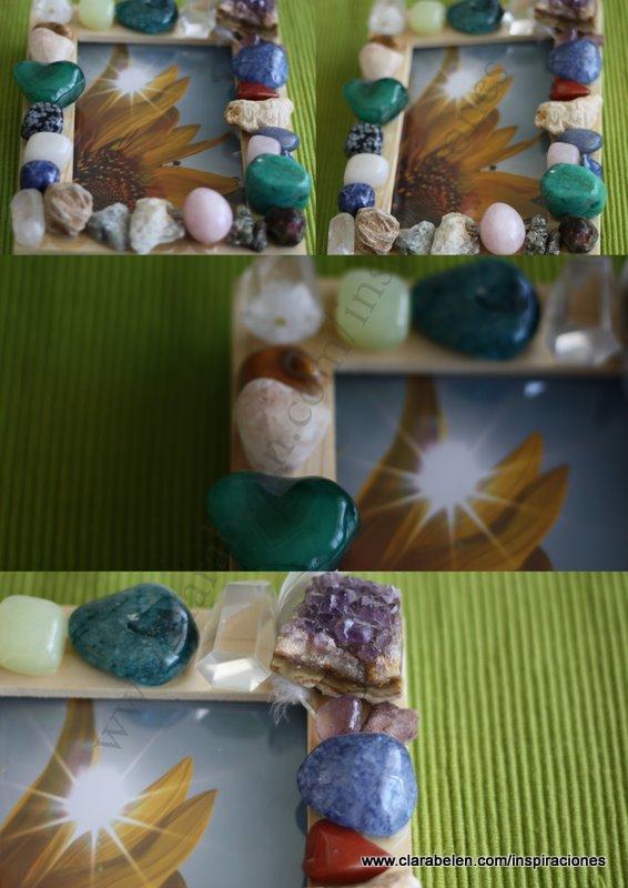 marco piedras semipreciosas