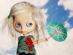 Little Green Umbrella - 325/365 ADAD