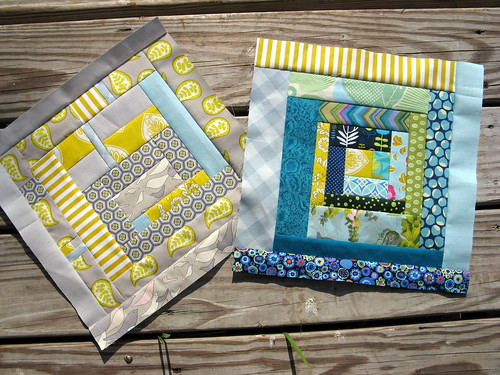 Bee Modern June - Just two of the pretty blocks!