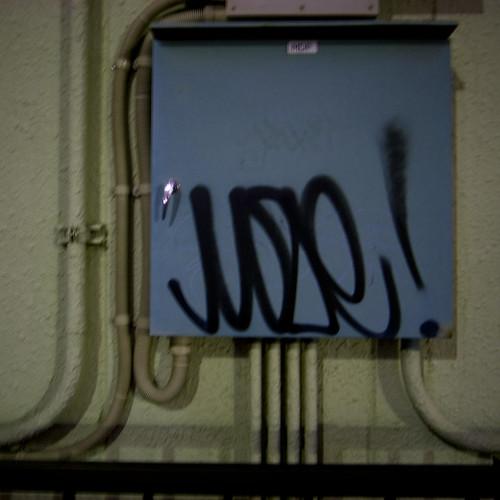 Moze Tag, Electrical Box, Nishi Kasai Tokyo