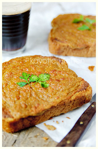 Welsh Rarebit (the restaurant version) « Kayotic Kitchen