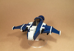 Dominator 323 (Skinny Pete Deux) Tags: sky plane model fighter lego air fi 323 moc dominator superiority
