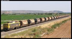 Arenero en Tudela (javier-lopez) Tags: train tren trenes railway arena japonesa arboç renfe 269 adif ffcc tudela arenero mercancías taoos transfesa villafría 21082008 l'arboç