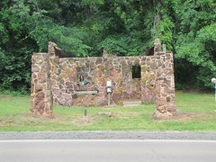 Old Gasoline Filling Station