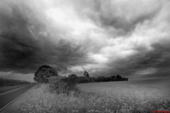 Fulbourn Windmill - Under the approaching storm