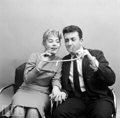 Now why didn't that invention take off? (andy188uk) Tags: woman funny cigarette smoke smoking holder