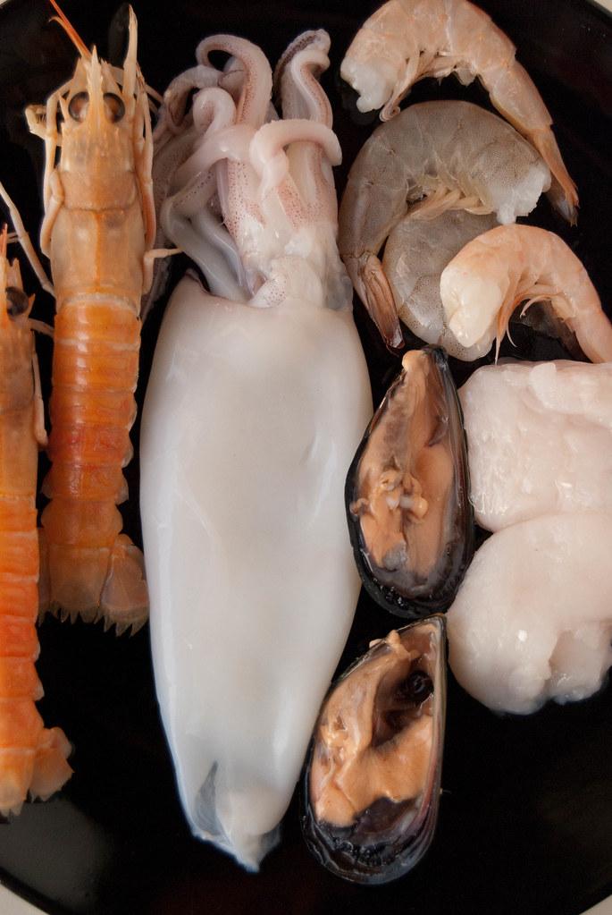 Pesce per paella
