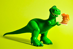 TOY STORY 3 - REX (m4calliope) Tags: green pancakes toy story rement rex