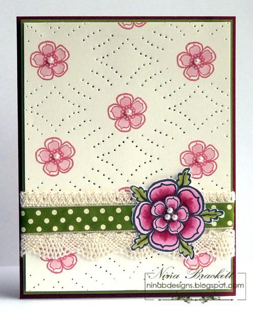 Stencile Flowering Gems2
