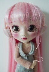 Music (belgian wafels) Tags: pink anime cute japan toy doll manga kawaii pullip custom obitsu