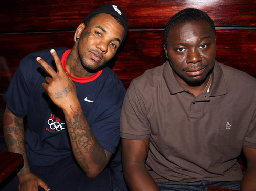 the game & jimmy henchmen chilling