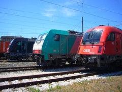 OBB E190-001(Taurus)  LINEA E483-013LI  GTS E483-052GC  Piacenza (Locom@n) Tags: piacenza linea gts obb e190001taurus e483013li e483052gc
