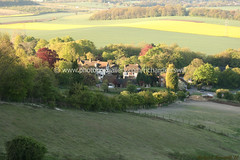 Thurnham (Richard Kerswill) Tags: flowers light shadow sky reflection church sunrise reflections dark downs landscapes countryside kent scenery shadows village superb country north landmark fields paths caminhos medway maidstone boxley supershot kerswill richardkerswill
