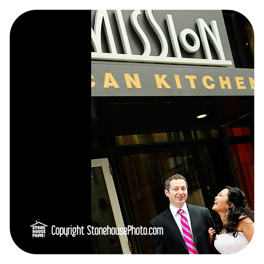 wedding reception at the Mission Kitchen