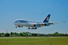 A380 Lufthansa Hamburg 03.06.2010