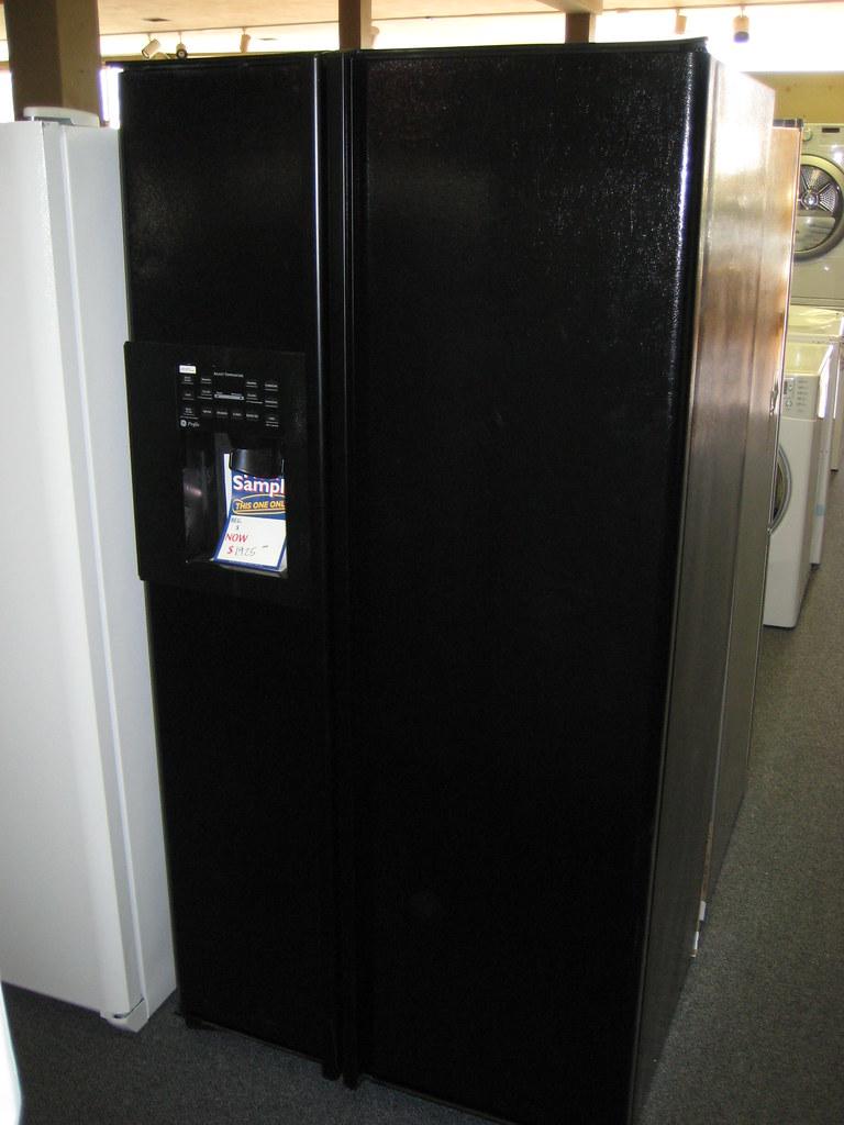 Ge Profile Refrigerator Black Refrigerator Black