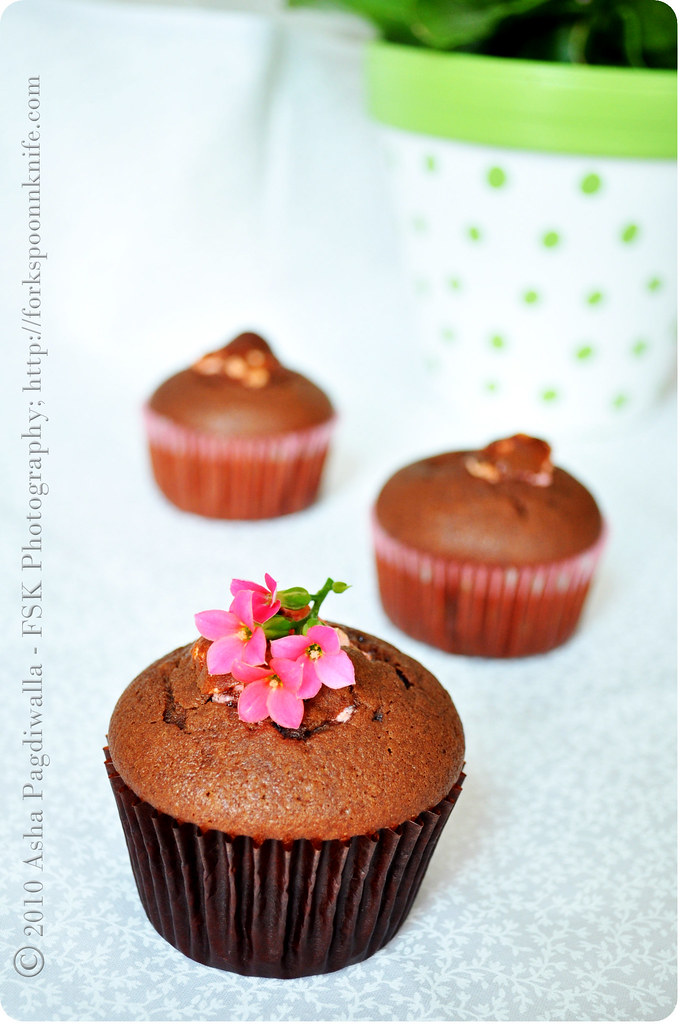 Chocolate Olive oil cakes