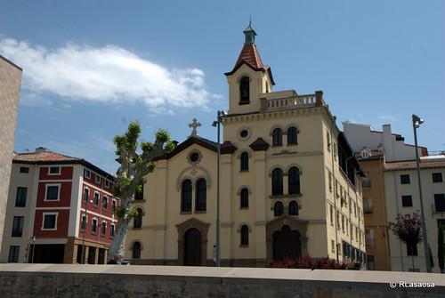 Iglesia de San Fermín de Aldapa, Pamplona by Rufino Lasaosa