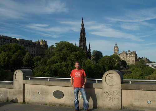 Bernd in Edinburgh