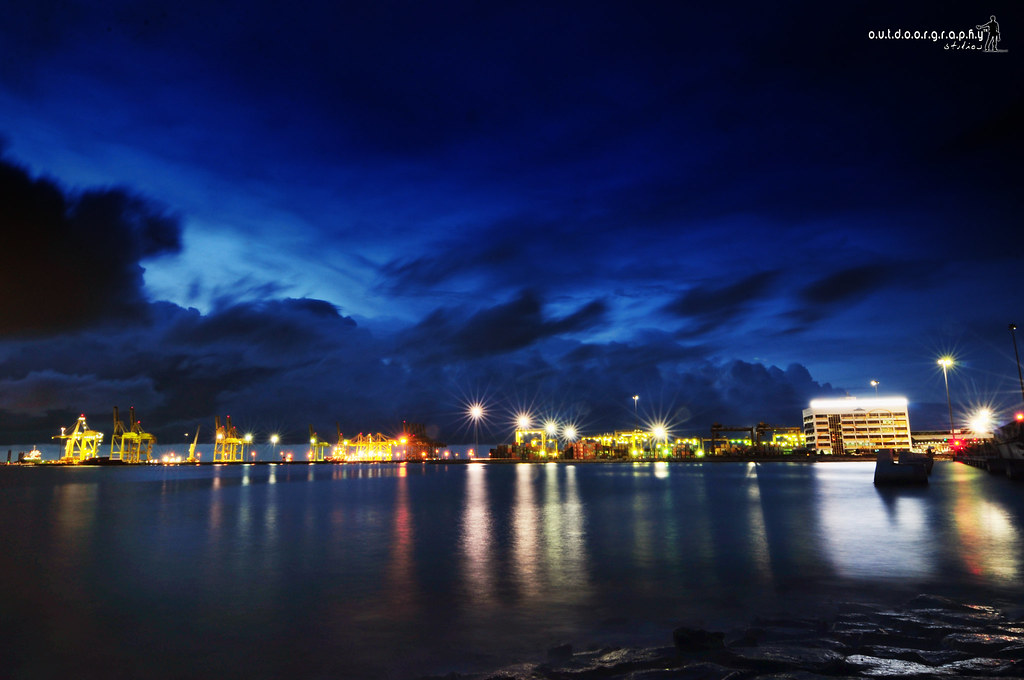 Penang Port | Long Exposure | Reflection Lights (by Sir Mart Outdoorgraphy™)