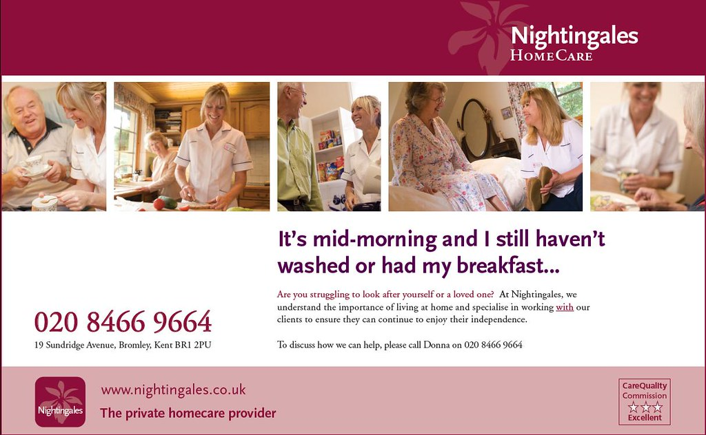 Nightingales New HomeCare Ad