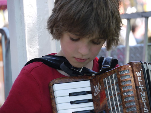 Accordion by kid