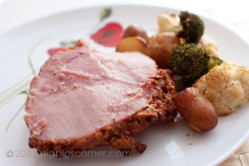 gingernsnap-crusted gammon 3