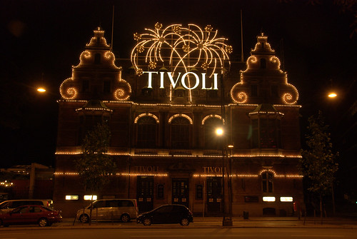 Tivoli Garden at Night