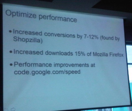 optimize performance slide