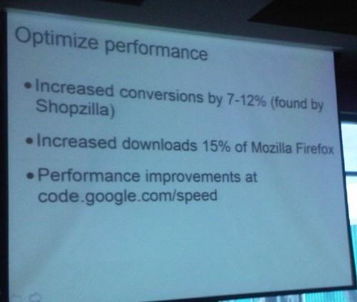 optimize performance slide