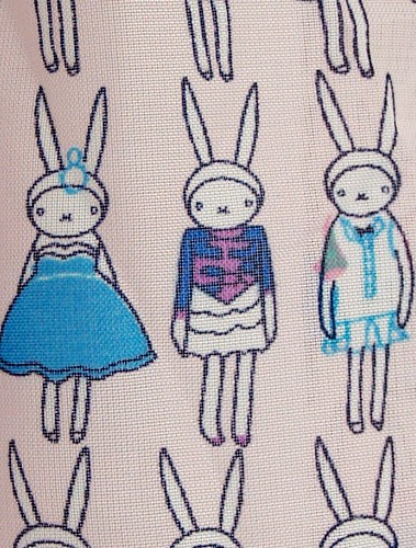 Rabbit print dress