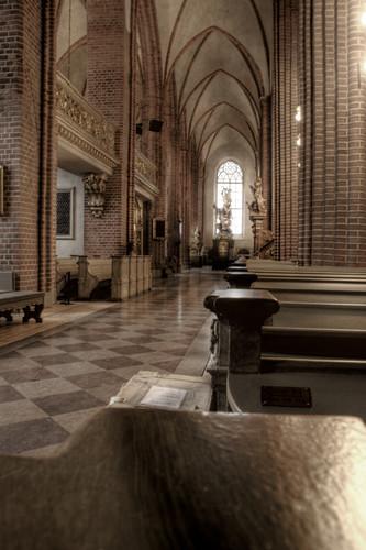Stockholm. Nave lateral de Storkyrkan. Estocolmo