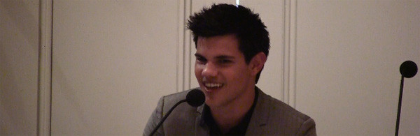 Taylor Lautner video interview The Twilight Saga Eclipse slice