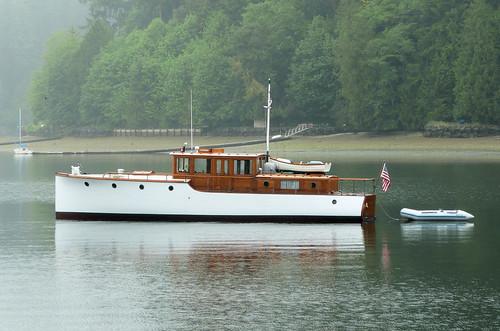 classic boat wooden yacht motoryacht